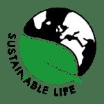 Sustainable life logo