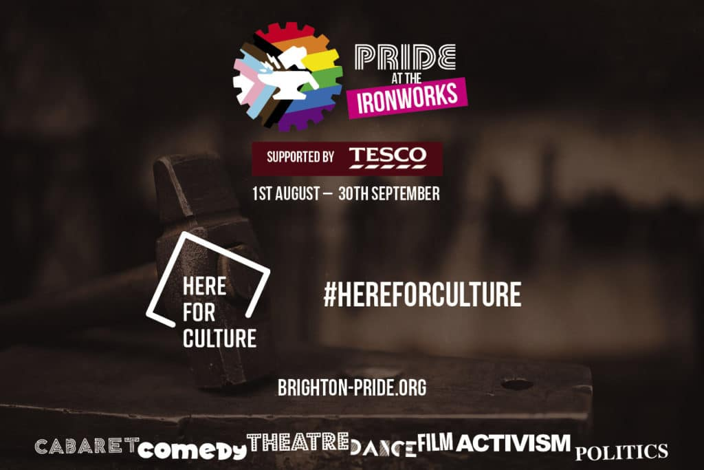 Read more about the article Brighton Pride August 2021 – Pride at the Ironworks